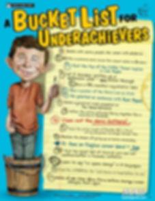 Bucket List for Underachievers