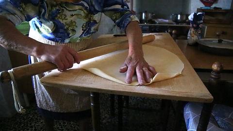 my grandmother make pasta dough