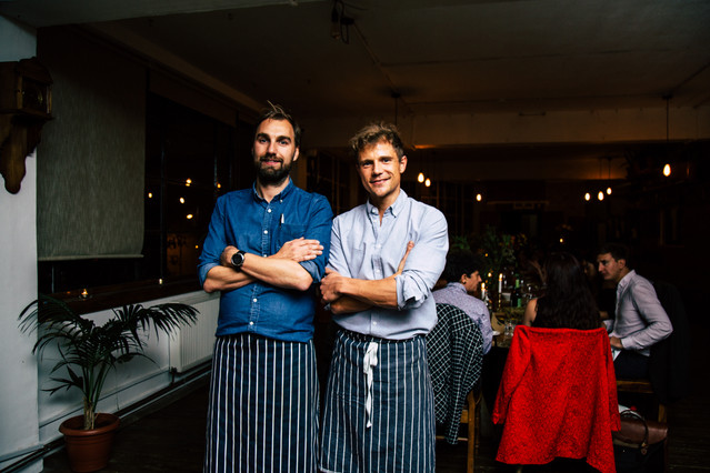Founders of the bear kitchen