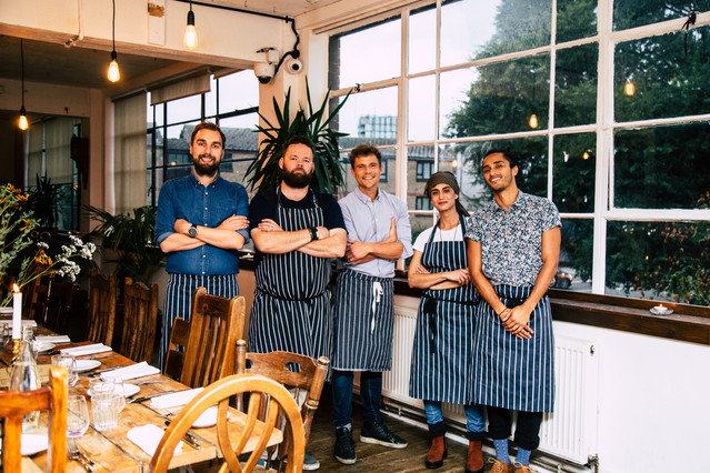 The bear kitchen team