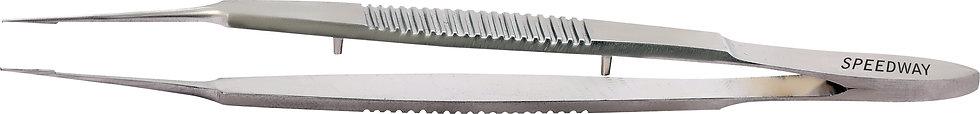Castroviejo Suture Tying & Corneal Forceps 0.12 mm