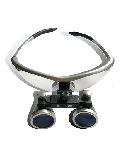 Speedway Loupe Operating 3.5x Loupe Sporty Frame with Light