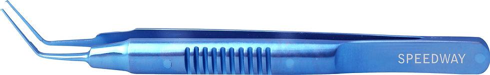 Utrata Capsulorhexis Forceps Titanium Knurled Handle