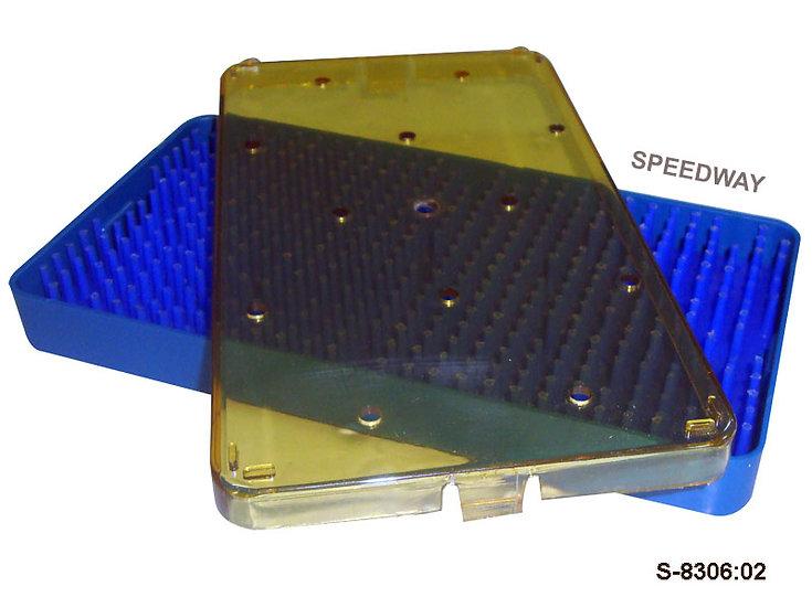 Plastic Sterilization Tray Size: 195 x 118 x 19 mm