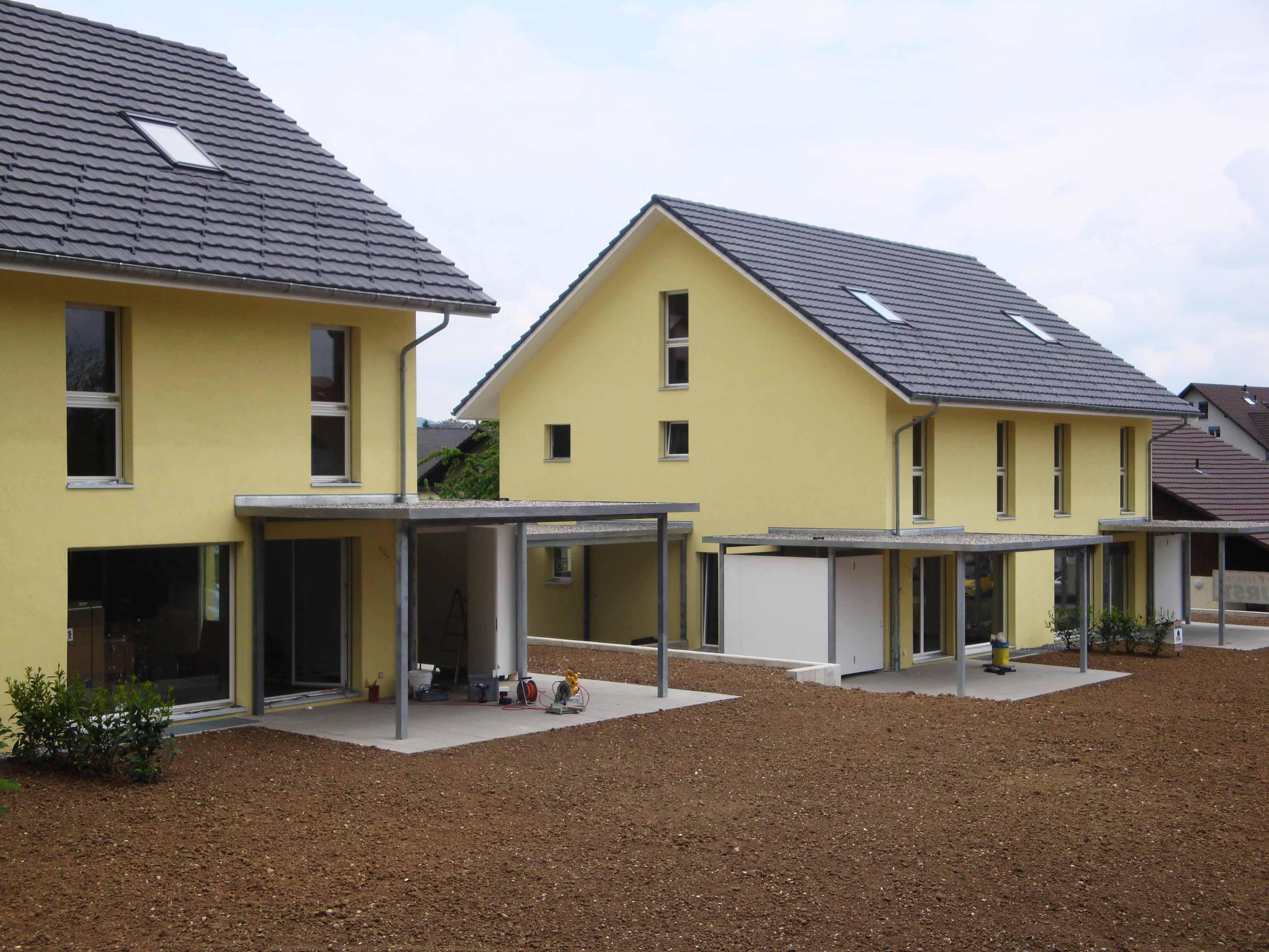 Doppeleinfamilienhäuser Egerkingen