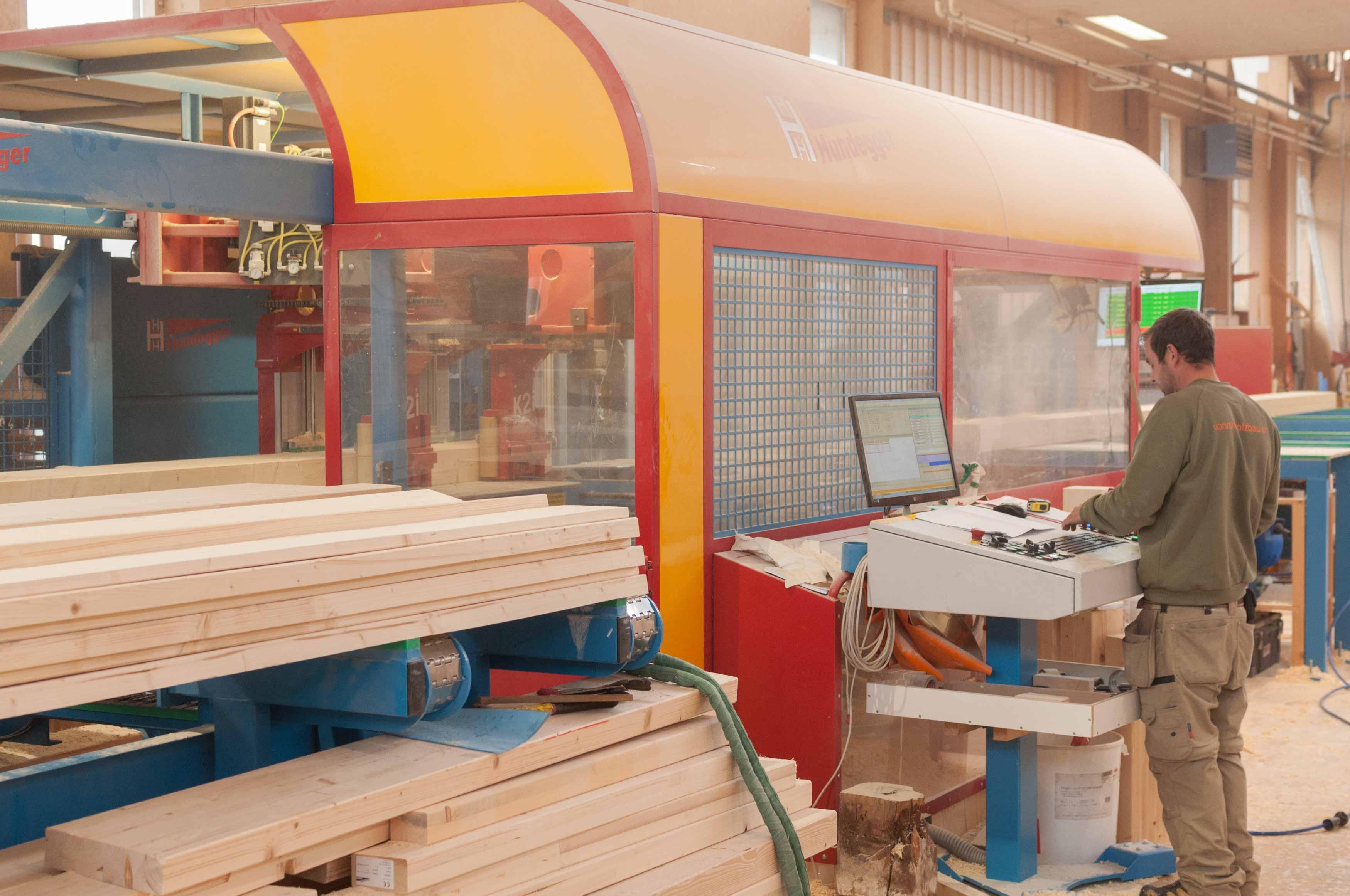 Abbund Holzbau