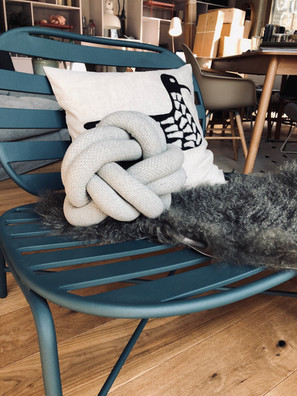 lounge stuhl by huebsch