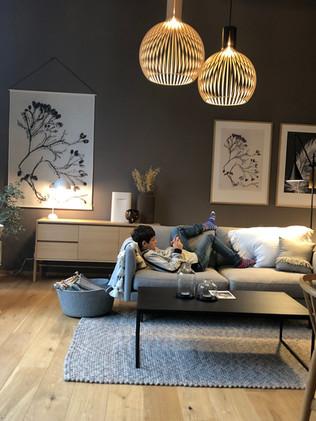 showroom mit hübsch secto und pernille Wandbilder
