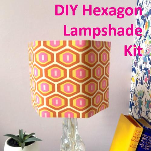 DIY Hexagon Lampshade Kit