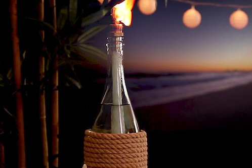 Macrame Bottle Tiki Torch Kit