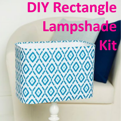 DIY Rectangle Lampshade Kit
