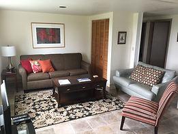 Garden Apartment living room
