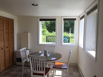 Garden Apartment dining