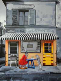 """z cyklu Folk lokalny """"Café La Pantera"""""""