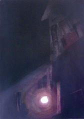 Kolory nocy wymiary: 21,0 cm. x 30,0 cm. technika: akwatinta / 2008