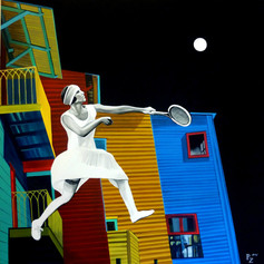 Księżycowy tenis