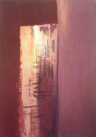 Stolarz Lucjan wymiary: 21,0 cm. x 30,0 cm. technika: akwatinta / 2008