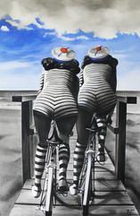 akryl na płótnie, 100 cm x 70 cm, 2013