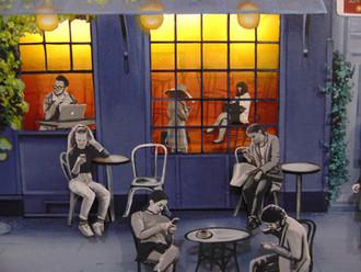 Cafe le smartphone - detal