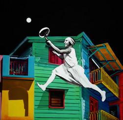 Księżycowy tenis II