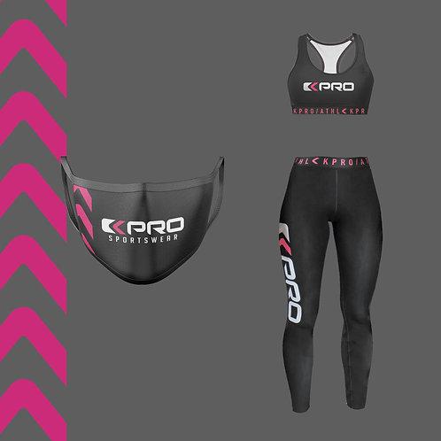 "Fitness Bundle ""Fluo Arrows"" Pink"