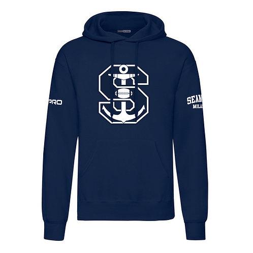 Seamen Blue Logo sweater