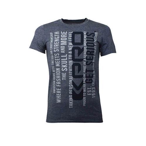 Kpro T-shirt  Skull & More - Blue