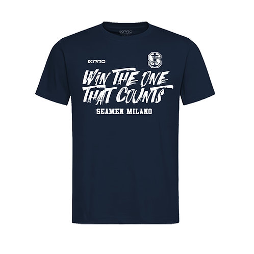 """Seamen """"Win The One That Counts"""" t-shirt"""