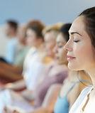 Clase de meditación