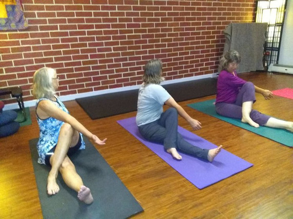 Small Group, Gentle Yoga Classes