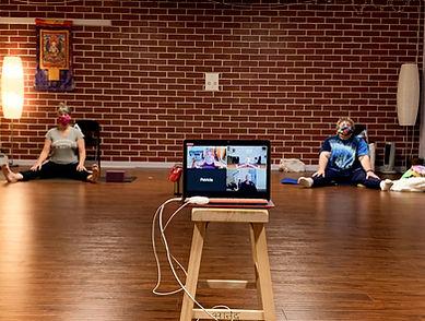Hybrid Yoga Class!