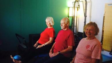 Pre Covid Senior Yoga Class