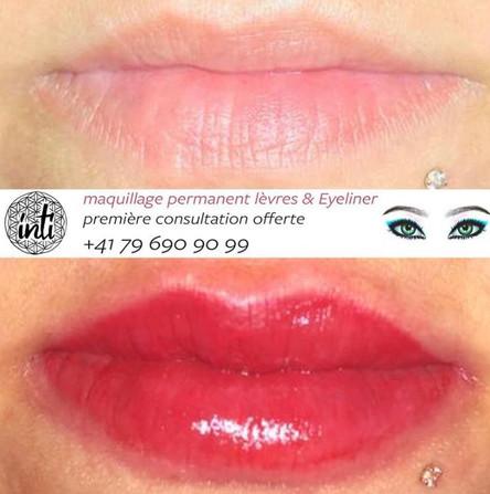tatouage de lèvres