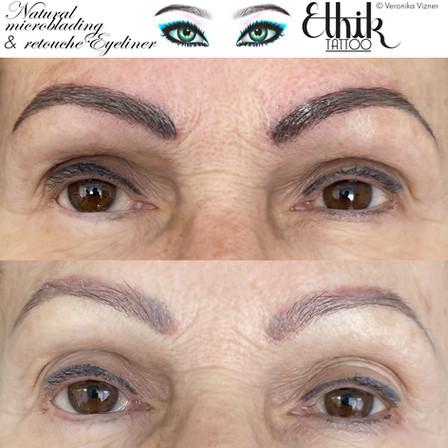microblading et eyeliner