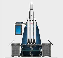 Rocket exhibit