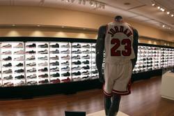 Nike AirJordan Shoe Exhibit