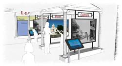 Traveling exhibit concept