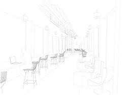 Employee lounge area concept