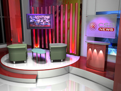 CSB-TV morning set