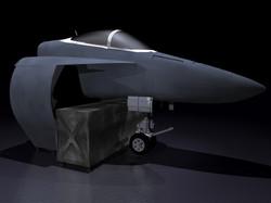 F-18 simulator