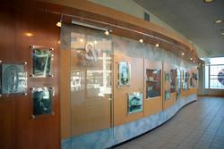 St Vincents Hospital history wall