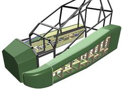 US Apache 3D construction model