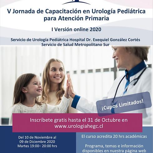 V Jornada de Capacitación en Urología Pediátrica para Atención Primaria