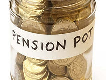 Savings-for-pension-collected-in-jam-jar