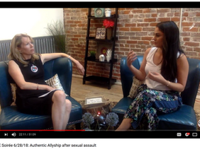 Katie is Interviewed about Authentic Allyship