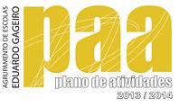 plano de atividades do agrupamento 2013/14
