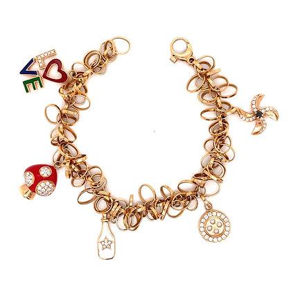 RoseGold Charm Bracelet