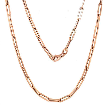 Papeclip chain necklace