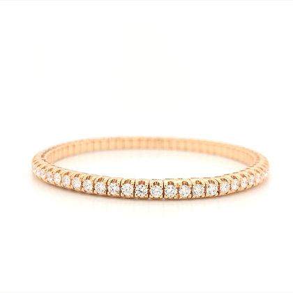 2.80ct flexible diamond bracelet