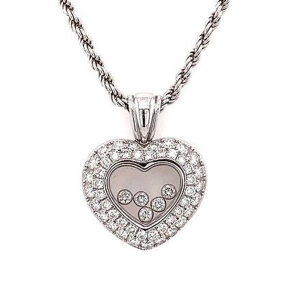 "Chopard ""Happy Diamonds"" heart pendant"